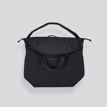 [AUBE17]SIGNATURE X SHOULDER BAG / Coal Black