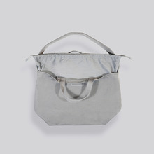 [AUBE17]SIGNATURE X SHOULDER BAG / Stone Grey