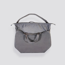 [AUBE17]SIGNATURE X SHOULDER BAG / Volcano Grey