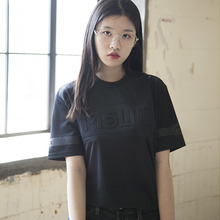 (60%할인)[MSUL] Effect Short Tee - Black