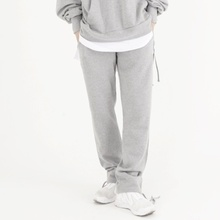 [Nar_Yoke] Overfit Two-way Sweat Pants - Gray