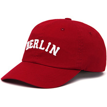 [Zanimal] Berlin Twill Ballcap - Red