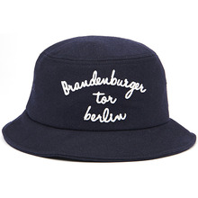 [Zanimal] Brandenburger Wool Buckethat - Dark Navy