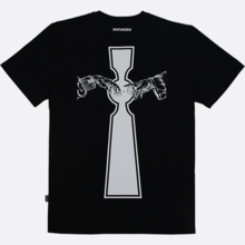 [NOT4NERD]Keyhole T-Shirt - Black