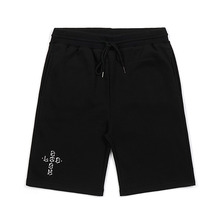 [STIGMA]CRUZ MEDIUM SWEAT SHORT PANTS - BLACK