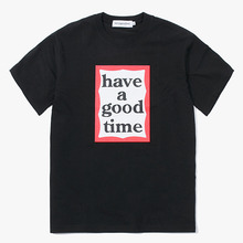 [Have a good time] Frame S/S Tee - Black