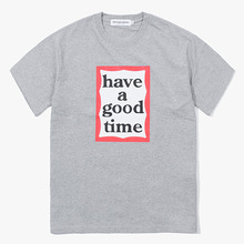 [Have a good time] Frame S/S Tee - Heather Grey