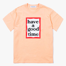 [Have a good time] Frame S/S Tee - Peach