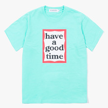 [Have a good time] Frame S/S Tee - Aqua