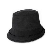[KING] Overlab Bucket Hat - Black