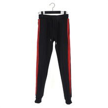 [Dos à Dos] Curved Jogger #003 - Black/Red