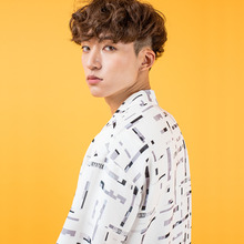 [40%할인][SUMMERJADE] (UNISEX) Unique Line Shirt