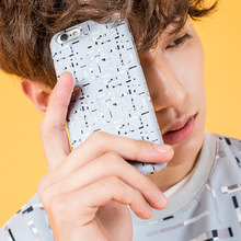 [10%할인][SUMMERJADE] Unique Line iPhone Case-Bluegray