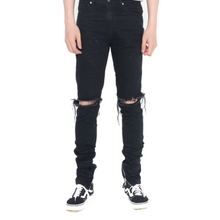 [FADE6] Destroyed Jeans Black