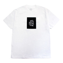 [Anti Social Social Club] CLUB TEE [2017S/S] - WHITE