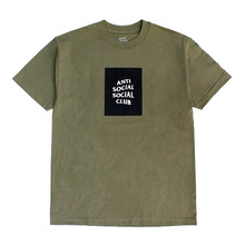 [Anti Social Social Club] CLUB TEE [2017S/S] - MILITARY GREEN