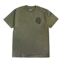 [Anti Social Social Club] CLUB TEE 2 [2017S/S] - MILITARY GREEN
