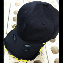 [Divine925][디바인925] Divine925 BlackLabel - Damage ballcap (yellow)