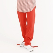 [Nar_Yoke] Overfit Two-way Sweat Pants - Solar Red