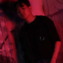[KICKSHAW] O-RING CUTTING T-SHIRT - BLACK