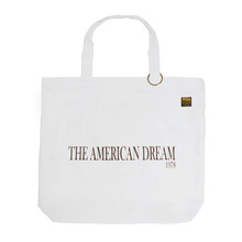 [KICKSHAW] AMERICAN ECO BAG - WHITE