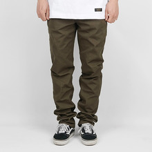 [LOKWARD] BASIC COTTON PANTS (OLIVE)