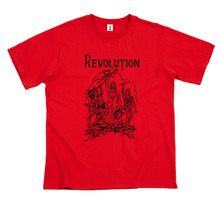 [Thanks Father] Revolution T-Shirt_Red