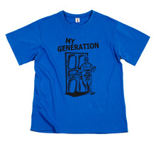[Thanks Father] My Generation T-Shirt_Blue