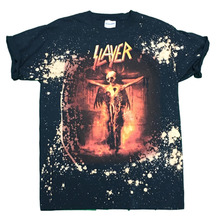 [VINTAGE WEAR] Slayer Skeleton Cross tee - Multi