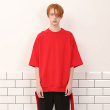 [A PAPER CUT] (30%할인)Back Ribbon Tee - Red