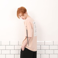 [A PAPER CUT] (30%할인)Back Patch Tee - Beige