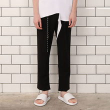 [A PAPER CUT] (30%할인)Band Slacks - Black