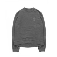 [Behind The Scenes]New Pished Crewneck - Charcoal