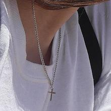 [HAWHA] Mini cross necklace