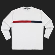 [DOIN'MATHANG] Grid Stretch Long Sleeve - White