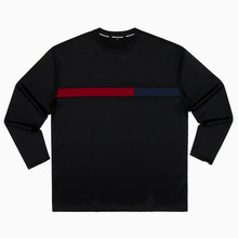[DOIN'MATHANG] Grid Stretch Long Sleeve - Black