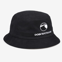 [DOIN'MATHANG] Logo Peach Bucket Hat - Black