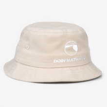 [DOIN'MATHANG] Logo Peach Bucket Hat - Beige