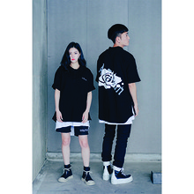 [10%할인][A.Clown]Shirts-fit Side-Zipper PK Half-Tee