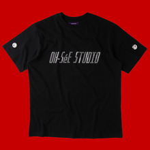 [TENUE] O.S.S GLITTER T-SHIRTS-BLACK