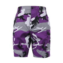 [Rothco] Colored Camo BDU Shorts - Violet Camo