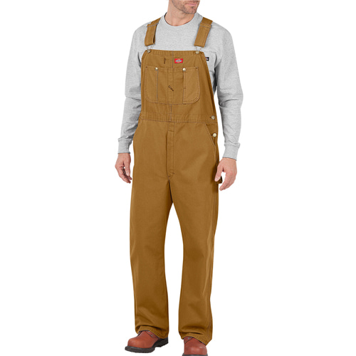 [Dickies] Duck Bib Overall - Brown
