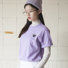 (35%할인)[MSUL] Ti_Me Short Tee - Purple