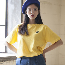 (35%할인)[MSUL] Ti_Me Short Tee - Yellow
