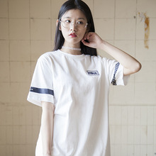(35%할인)[MSUL] Logo Wappen Color Short Tee - White