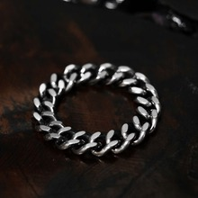 [Blessed Bullet] (SV925)5mm Classic Chain Ring