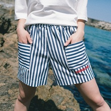 [30%할인][Double adrenaline syndrome] Basic half pants - BLUE