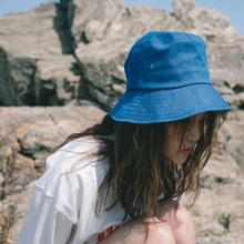 [20%할인][Double adrenaline syndrome] FIRE POINT BUCKET HAT - BLUE