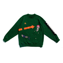 [30%할인][PL.HAMING]Space trip sweatshirts - GREEN