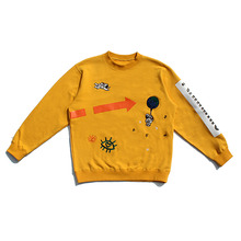 [30%할인][PL.HAMING]Space trip sweatshirts - YELLOW